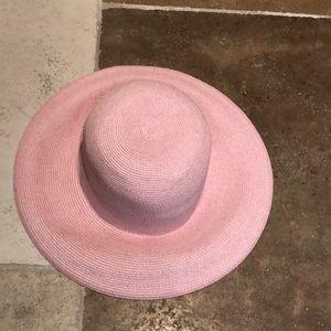 Eric Javits pink soft hat !!